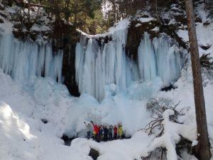 小坂な冬の滝めぐり