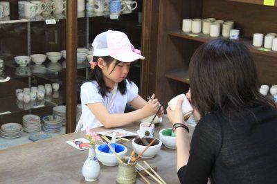 陶器絵付け体験